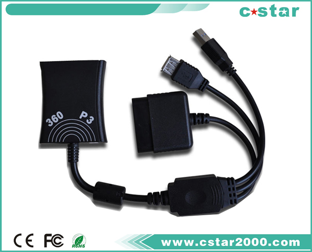 PS2 to XBOX360 slim converter