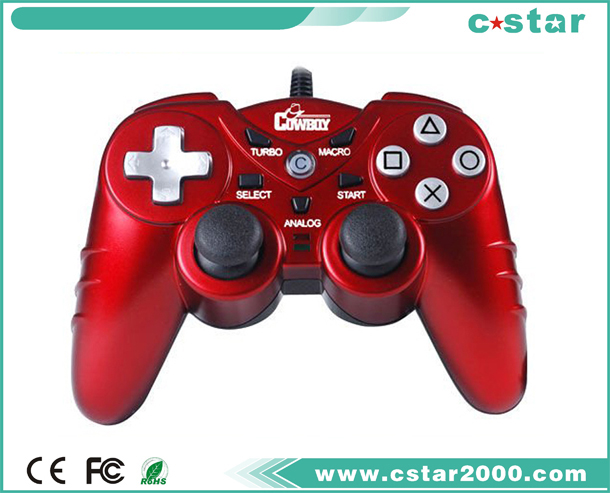 3in1 ps3,ps2,pc usb wried controller(red) NS9129