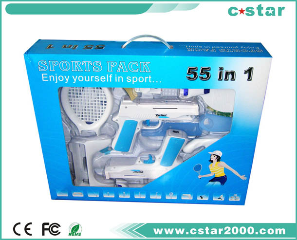Wii SPORTS KIT 55 IN 1